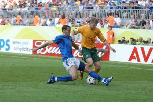 kaiserslautern fritz walter stadium 26 jun 2006 Italy - Australia round 16 time 17 Photographer: Maurizio Borsari